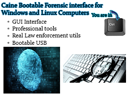 CAINE Computer Forensics Bootable USB
