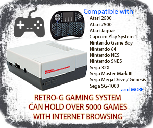 Retro-G Entertainment System | Dual-Boot + Internet Access