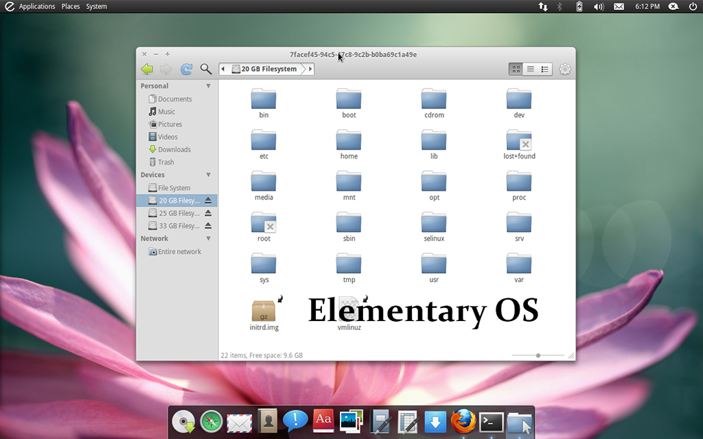 Linux Elementary OS Bootable Boot USB Flash Thumb Drive