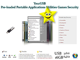 YourUSB – Pre-loaded Portable Apps